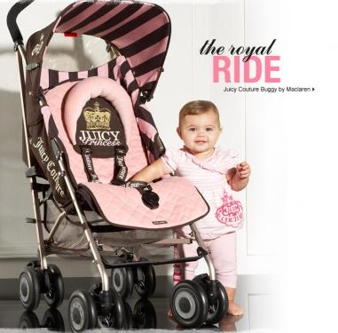 Le Petit Tom S Blog Juicy Couture Baby Stroller Maclaren